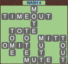 Wordscapes Coast Wash 4 - Level 2036 Answers