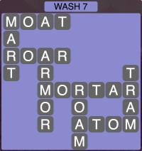 Wordscapes Coast Wash 7 - Level 2039 Answers