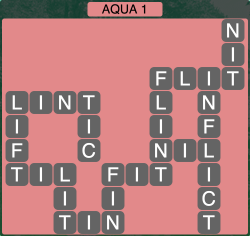 Wordscapes Coast Aqua 1 - Level 2049 Answers