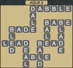 Wordscapes Coast Aqua 2 - Level 2050 Answers