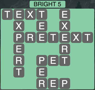 Wordscapes Twilight Bright 5 - Level 2101 Answers