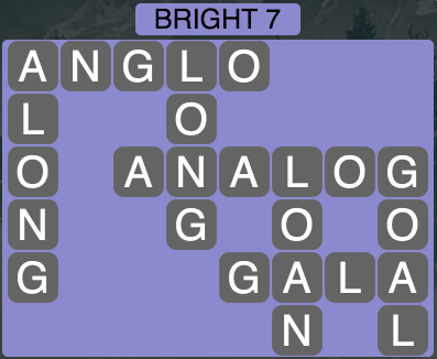 Wordscapes Twilight Bright 7 - Level 2103 Answers