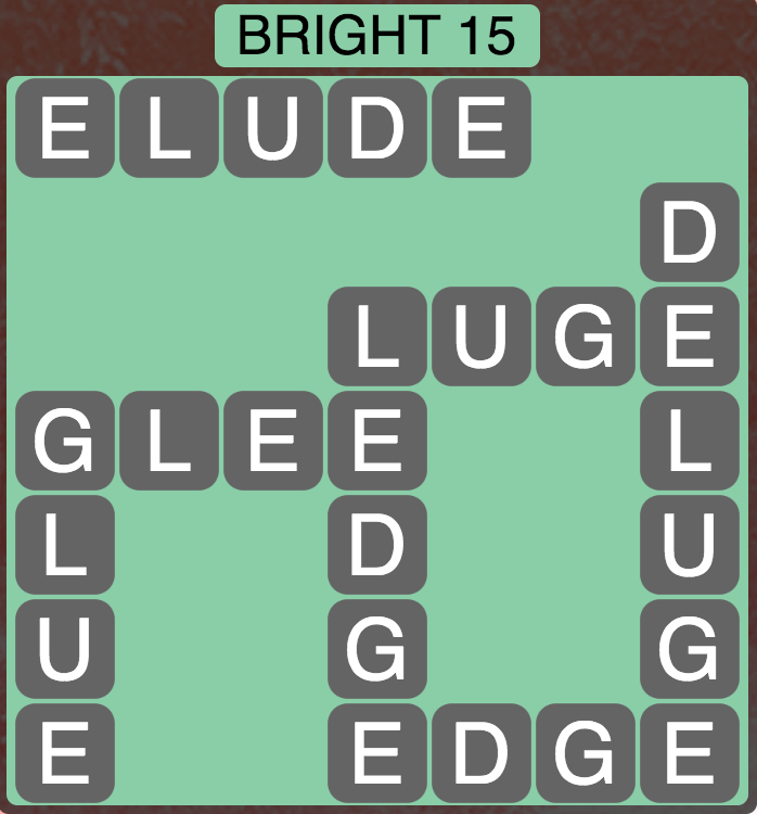 Wordscapes Twilight Bright 15 - Level 2111 Answers