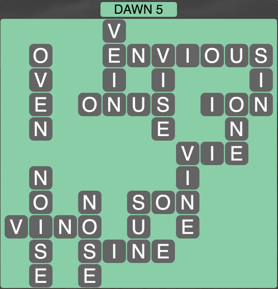 Wordscapes Twilight Dawn 5 - Level 2117 Answers