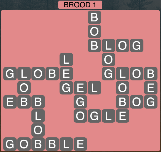 Wordscapes Twilight Brood 1 - Level 2129 Answers