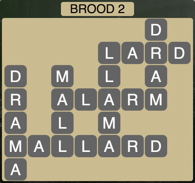 Wordscapes Twilight Brood 2 - Level 2130 Answers