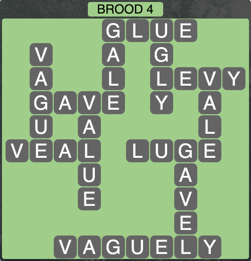 Wordscapes Twilight Brood 4 - Level 2132 Answers