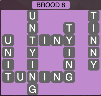 Wordscapes Twilight Brood 8 - Level 2136 Answers
