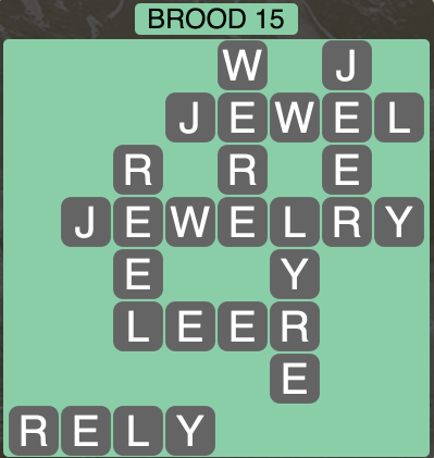 Wordscapes Twilight Brood 15 - Level 2143 Answers