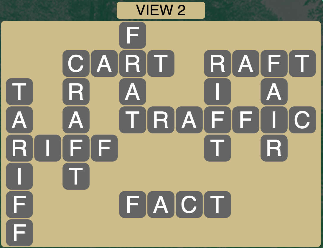 Wordscapes Twilight View 2 - Level 2146 Answers