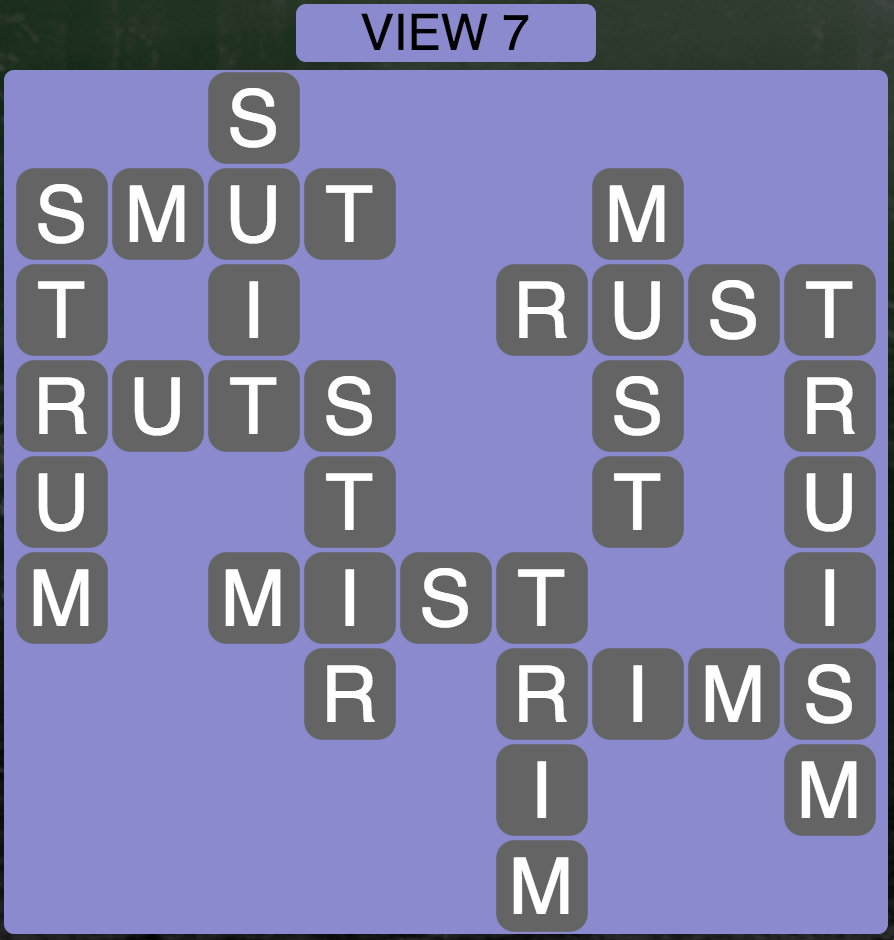 Wordscapes Twilight View 7 - Level 2151 Answers