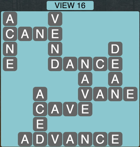 Wordscapes Twilight View 16 - Level 2160 Answers
