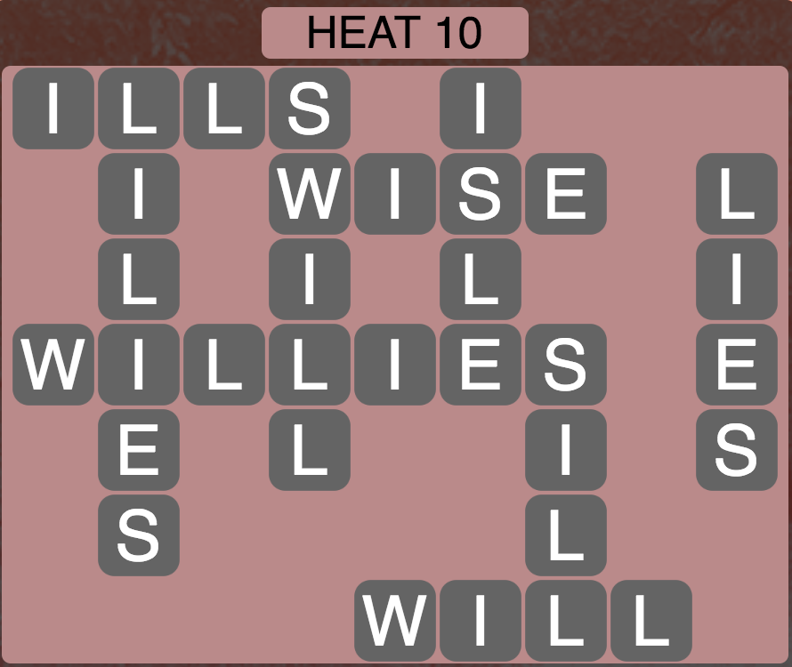 Wordscapes West Heat 10 - Level 3930 Answers