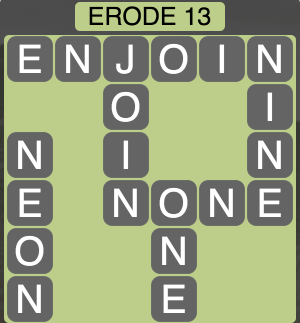 Wordscapes West Erode 13 - Level 3949 Answers