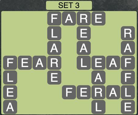 Wordscapes West Set 3 - Level 3971 Answers