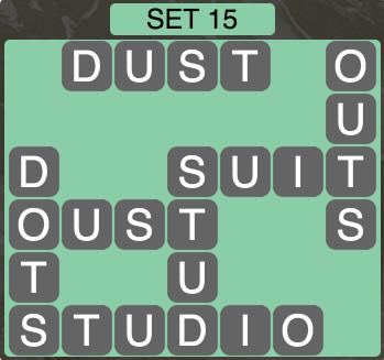 Wordscapes West Set 15 - Level 3983 Answers