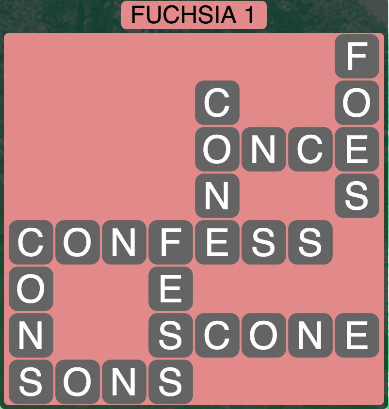 Wordscapes West Fuchsia 1 - Level 3985 Answers