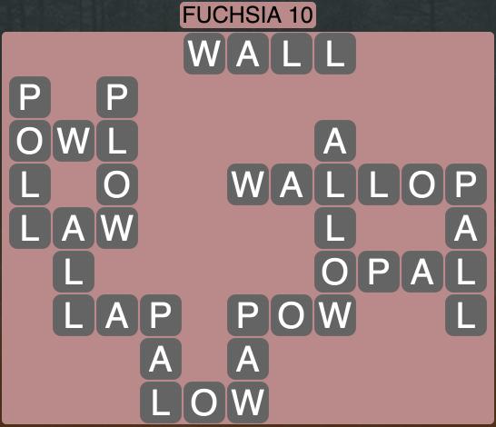 Wordscapes West Fuchsia 10 - Level 3994 Answers
