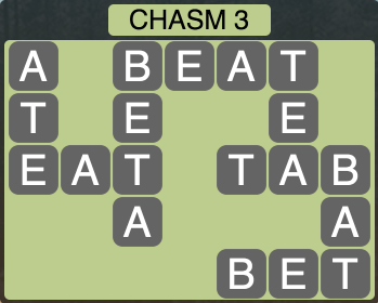 Wordscapes Ravine Chasm 3 - Level 4191 Answers