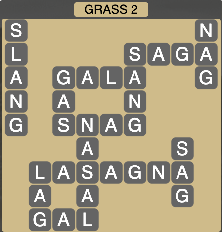 Wordscapes Grass 2 - Level 4242 Answers