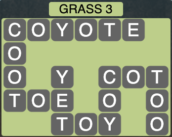 Wordscapes Grass 3 - Level 4243 Answers