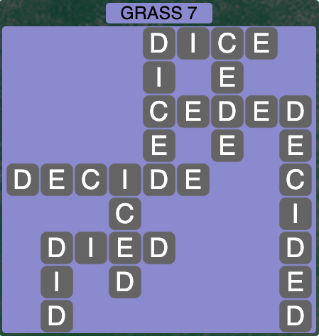 Wordscapes Grass 7 - Level 4247 Answers