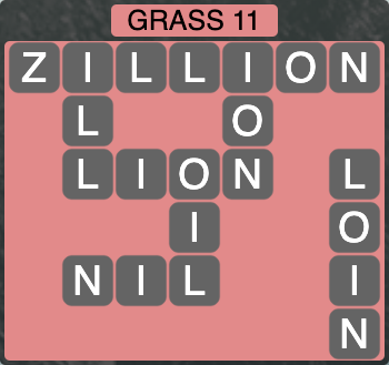Wordscapes Grass 11 - Level 4251 Answers