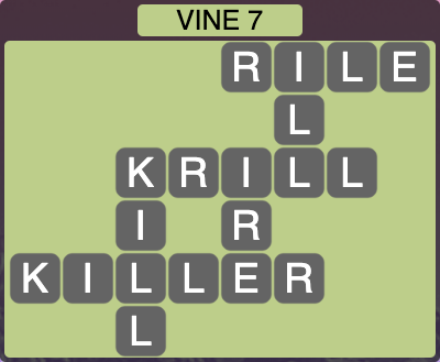Wordscapes Vine 7 - Level 4287 Answers