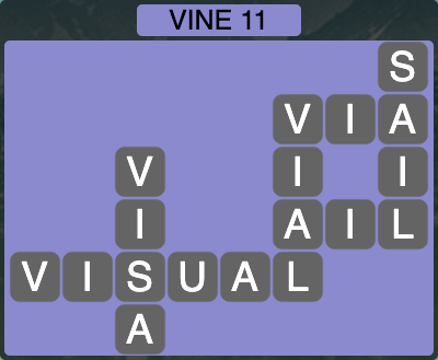Wordscapes Vine 11 - Level 4267 Answers