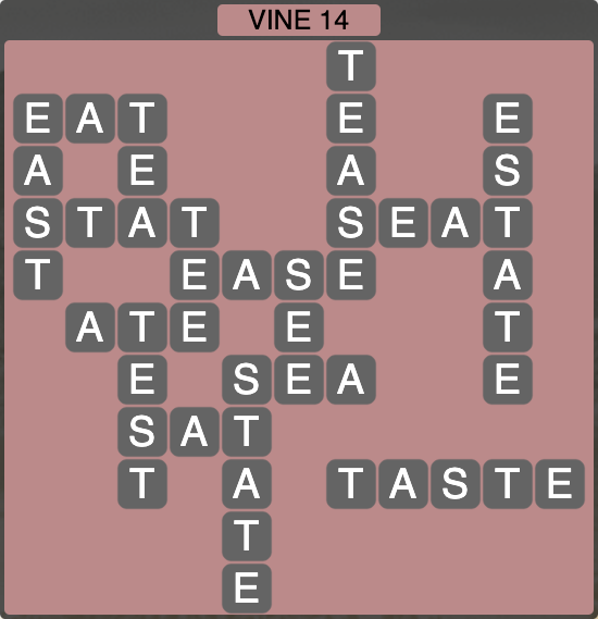 Wordscapes Vine 14 - Level 4270 Answers