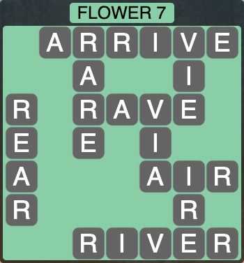 Wordscapes Botanical Flower 7 - Level 4327 Answers