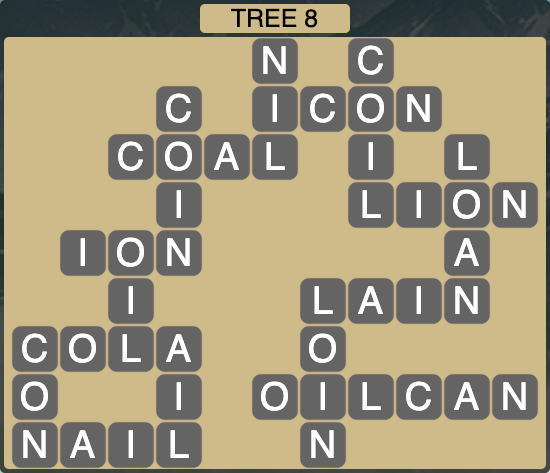 Wordscapes Botanical Tree 8 - Level 4348 Answers