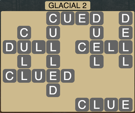 Wordscapes Arctic Glacial 8 - Level 4358 Answers