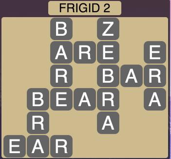 Wordscapes Arctic Frigid 2 - Level 4374 Answers