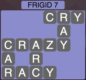 Wordscapes Arctic Frigid 7 - Level 4379 Answers