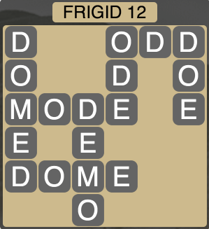 Wordscapes Arctic Frigid 12 - Level 4384 Answers