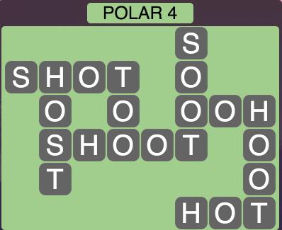 Wordscapes Arctic Polar 4 - Level 4396 Answers