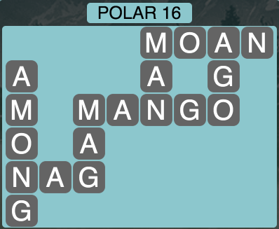 Wordscapes Arctic Polar 16 - Level 4408 Answers