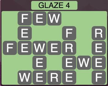 Wordscapes Arctic Glaze 4 - Level 4416 Answers