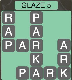 Wordscapes Arctic Glaze 5 - Level 4417 Answers