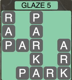 Wordscapes Arctic Glaze 5 - Level 4417 Answers