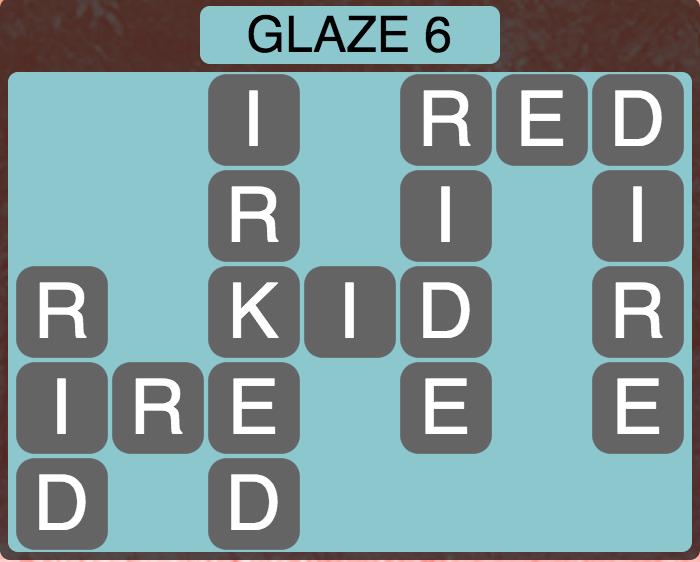 Wordscapes Arctic Glaze 6 - Level 4418 Answers
