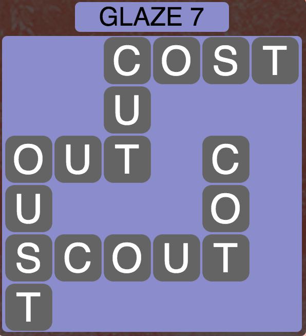 Wordscapes Arctic Glaze 7 - Level 4419 Answers