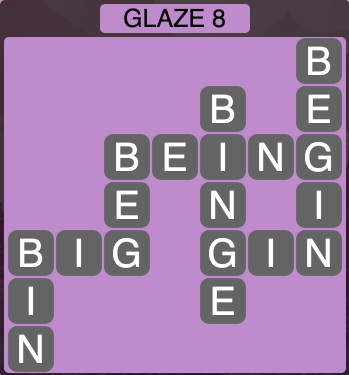 Wordscapes Arctic Glaze 8 - Level 4420 Answers