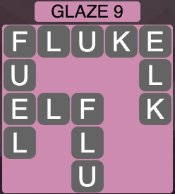 Wordscapes Arctic Glaze 9 - Level 4421 Answers