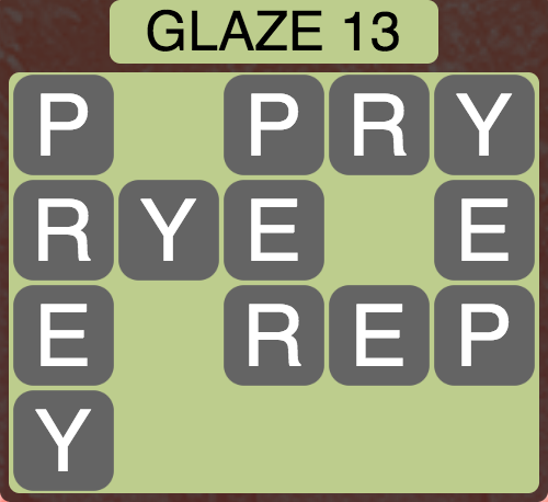 Wordscapes Arctic Glaze 13 - Level 4425 Answers
