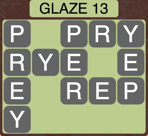 Wordscapes Arctic Glaze 13 - Level 4425 Answers