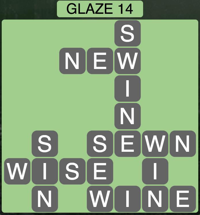 Wordscapes Arctic Glaze 14 - Level 4426 Answers
