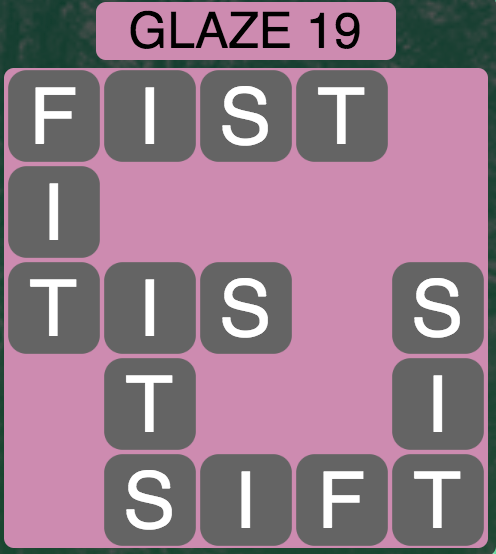 Wordscapes Arctic Glaze 19 - Level 4431 Answers