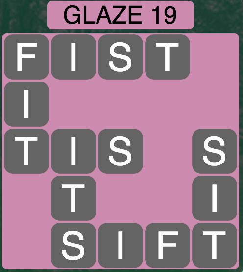 Wordscapes Arctic Glaze 19 - Level 4431 Answers